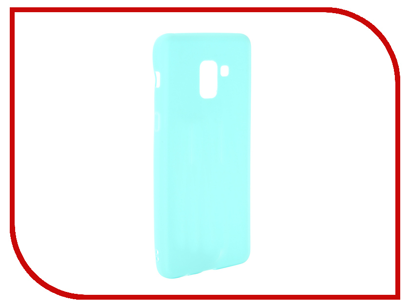 Аксессуар Чехол для Samsung Galaxy A8 Plus 2018 A730 Zibelino Soft Matte Turquoise ZSM-SAM-A730-TQS protective glass red line for samsung galaxy a8 plus 2018 a730