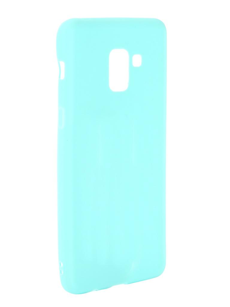 Аксессуар Чехол Zibelino для Samsung Galaxy A8 Plus 2018 A730 Soft Matte Turquoise ZSM-SAM-A730-TQS