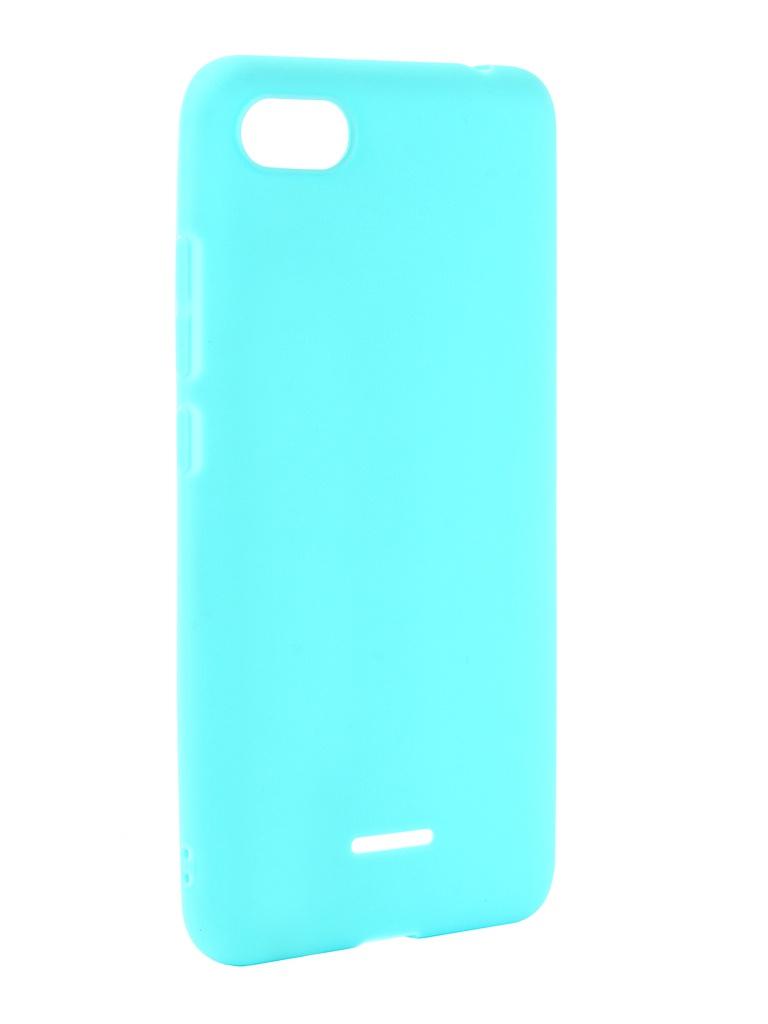 Чехол Zibelino для Xiaomi Redmi 6A Soft Matte Turquoise ZSM-XIA-6A-TQS