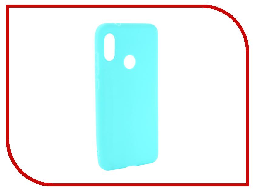 Аксессуар Чехол для Xiaomi Mi A2 Lite Zibelino Soft Matte Turquoise ZSM-XIA-A2LT-TQS аксессуар чехол samsung j3 2017 j330f zibelino clear view black zcv sam j330 blk