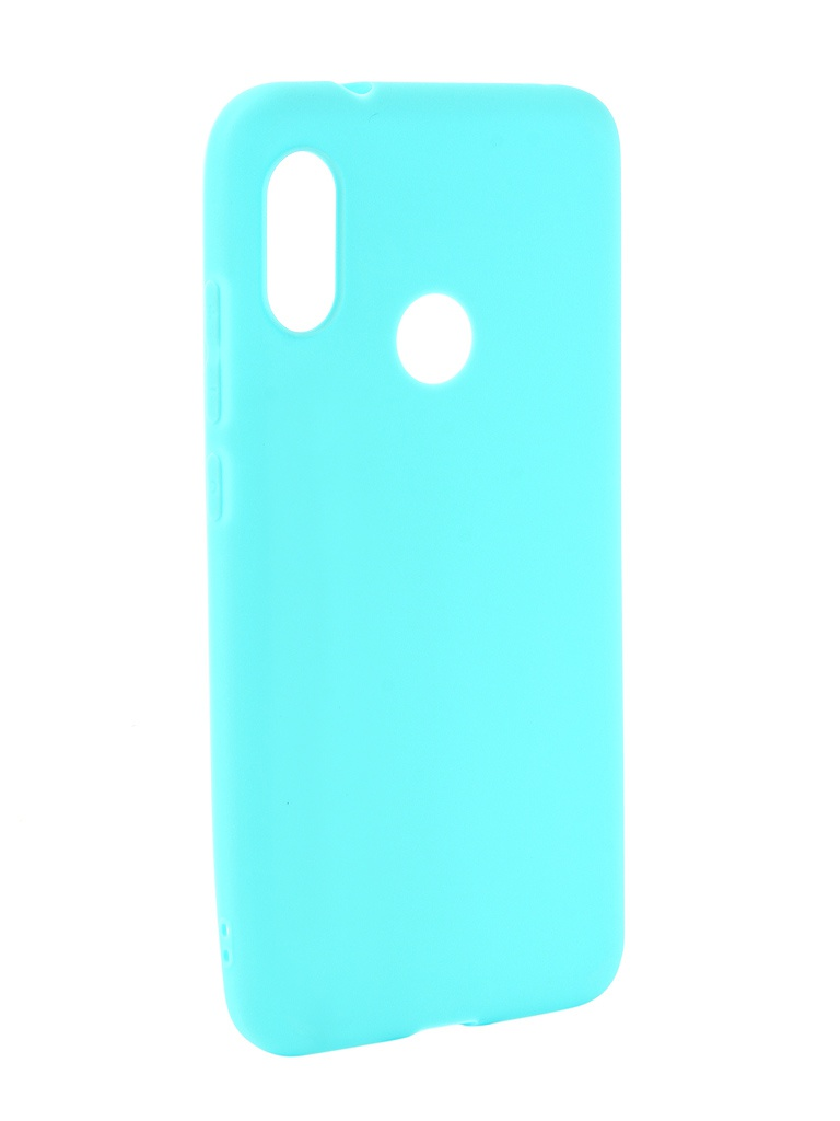 Чехол Zibelino для Xiaomi Mi A2 Lite Soft Matte Turquoise ZSM-XIA-A2LT-TQS