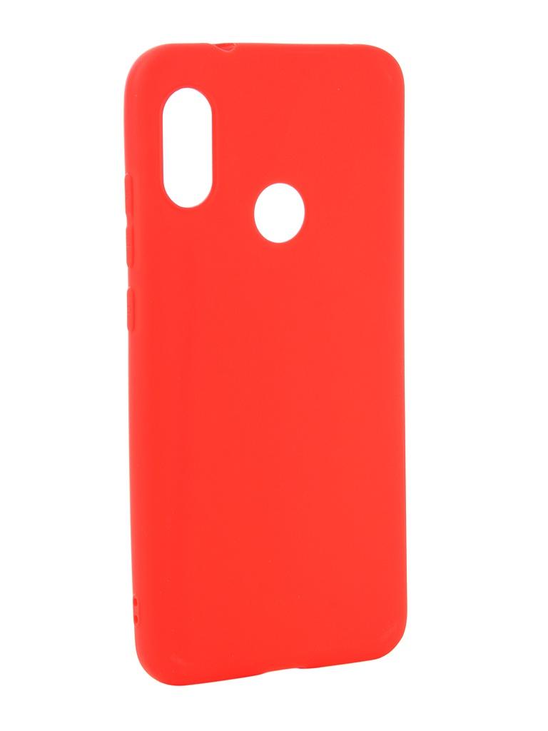 Аксессуар Чехол Zibelino для Xiaomi Mi A2 Lite Soft Matte Red ZSM-XIA-A2LT-RED аксессуар чехол zibelino для xiaomi mi9 se 2019 soft matte red zsm xia mi9se red
