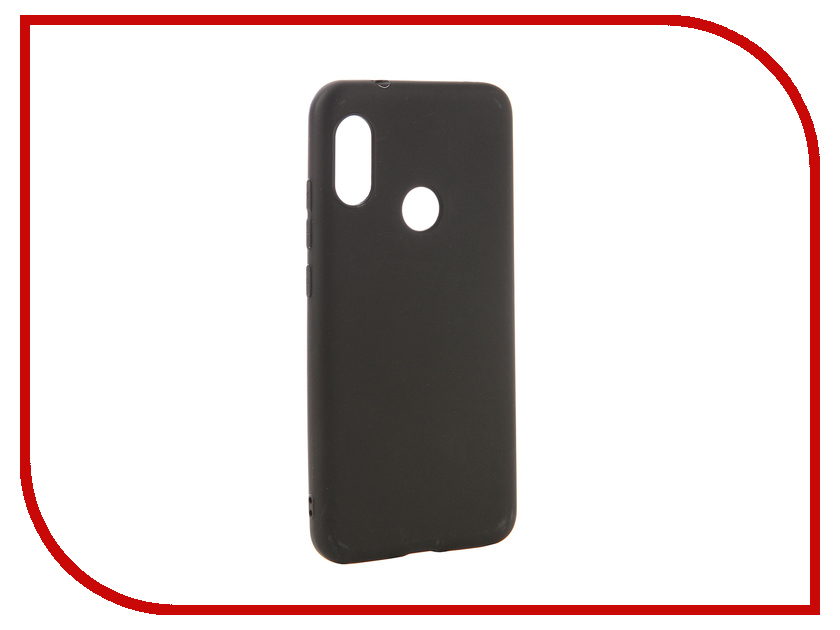 Аксессуар Чехол для Xiaomi Mi A2 Lite Zibelino Soft Matte Black ZSM-XIA-A2LT-BLK mattress cover cotton