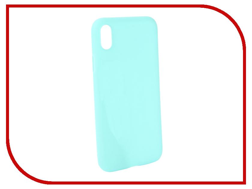 Аксессуар Чехол Zibelino Soft Matte для APPLE iPhone XR Turquoise ZSM-APL-XR-TQS аксессуар чехол samsung j3 2017 j330f zibelino clear view black zcv sam j330 blk