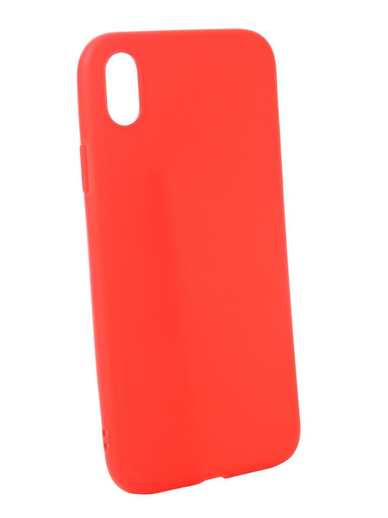 Аксессуар Чехол Zibelino для APPLE iPhone XR Soft Matte Red ZSM-APL-XR-RED