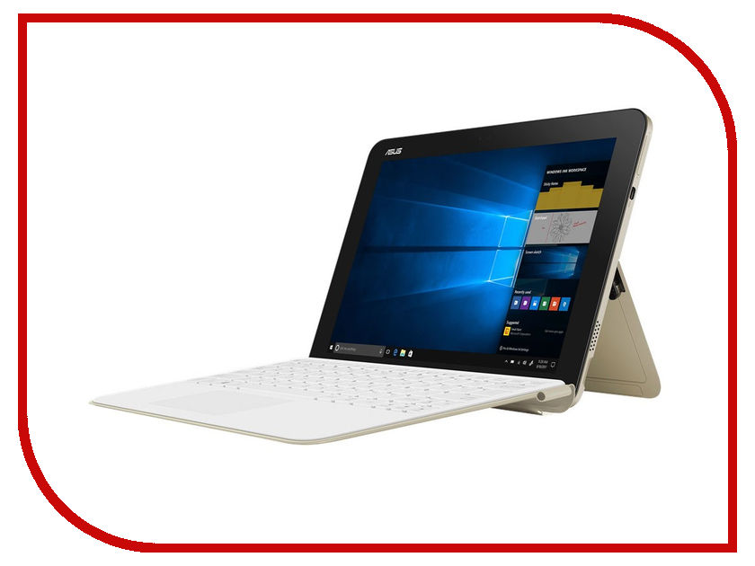 Планшет ASUS T103HAF-GR007T 90NB0FT1-M03280 Icicle Gold (Intel Atom x5-Z8350 1.44GHz/4096Mb/64Gb/No ODD/Intel HD Graphics/Wi-Fi/Cam/10.1/1280x800/Touchscreen/Windows 10 64-bit) 27 asus mx27uq icicle gold black 90lm02bb b01670