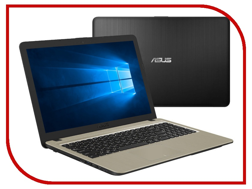 Ноутбук ASUS X540UA-DM597T 90NB0HF1-M08730 Black (Intel Core i3-6006U 2.0 GHz/4096Mb/256Gb SSD/No ODD/Intel HD Graphics/Wi-Fi/Bluetooth/Cam/15.6/1920x1080/Windows 10 64-bit) стоимость