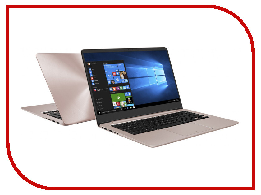Ноутбук ASUS UX410UF-GV099T 90NB0HZ4-M03950 Rose Gold (Intel Core i5-8250U 1.6 GHz/4096Mb/1000Gb + 128Gb SSD/No ODD/nVidia GeForce MX130 2048Mb/Wi-Fi/Bluetooth/Cam/14.0/1920x1080/Windows 10 64-bit) моноблок lenovo ideacentre aio 520 22iku ms silver f0d5000srk intel core i5 7200u 2 5 ghz 4096mb 1000gb dvd rw intel hd graphics wi fi bluetooth cam 21 5 1920x1080 dos