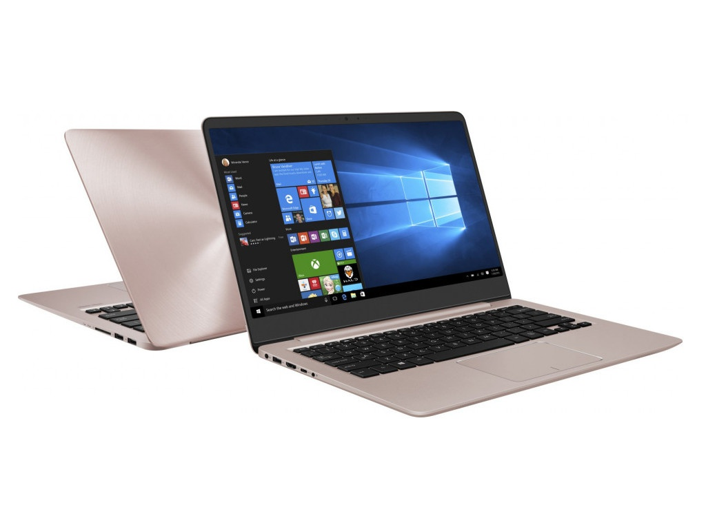 Ноутбук ASUS UX410UF-GV099T 90NB0HZ4-M03950 Rose Gold (Intel Core i5-8250U 1.6 GHz/4096Mb/1000Gb + 128Gb SSD/No ODD/nVidia GeForce MX130 2048Mb/Wi-Fi/Bluetooth/Cam/14.0/1920x1080/Windows 10 64-bit) ноутбук asus x542uf dm042t 90nb0ij2 m04770 intel core i3 7100u 2 4 ghz 4096mb 500gb nvidia geforce mx130 2048mb wi fi cam 15 6 1920x1080 windows 10 64 bit