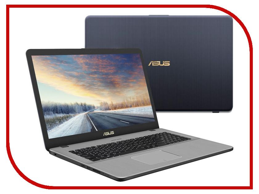 Ноутбук ASUS N705UF-GC138 90NB0IE1-M01770 Grey (Intel Core i3-7100U 2.4 GHz/6144Mb/1000Gb/No ODD/nVidia GeForce MX130 2048Mb/Wi-Fi/Bluetooth/Cam/17.3/1920x1080/Endless) ноутбук asus vivobook x542uf dm235 dark grey 90nb0ij2 m07930 intel core i3 8130u 2 2 ghz 8192mb 1000gb nvidia geforce mx130 2048mb wi fi bluetooth cam 15 6 1920x1080 endless os