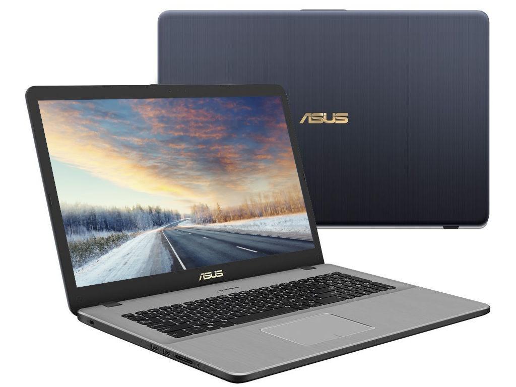 Ноутбук ASUS N705UF-GC138 90NB0IE1-M01770 Grey (Intel Core i3-7100U 2.4 GHz/6144Mb/1000Gb/No ODD/nVidia GeForce MX130 2048Mb/Wi-Fi/Bluetooth/Cam/17.3/1920x1080/Endless)