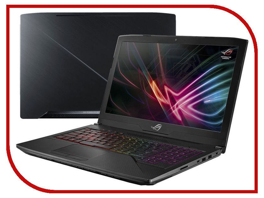 Ноутбук ASUS GL503GE-EN250T 90NR0081-M05050 Gunmetal (Intel Core i5-8300H 2.3 GHz/16384Mb/1000Gb + 128Gb SSD/No ODD/nVidia GeForce GTX 1050 Ti 4096Mb/Wi-Fi/Bluetooth/Cam/15.6/1920x1080/Windows 10 64-bit) ноутбук asus rog gl552vx cn096t 90nb0aw3 m01080 intel core i7 6700hq 2 6 ghz 16384mb 2000gb 128gb ssd dvd rw nvidia geforce gtx 950m 4096mb wi fi cam 15 6 1920x1080 windows 10 64 bit