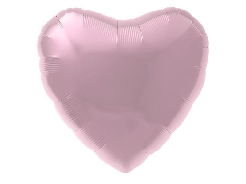Шар фольгированный Agura Сердце 18-inch Soft Pink 3857966