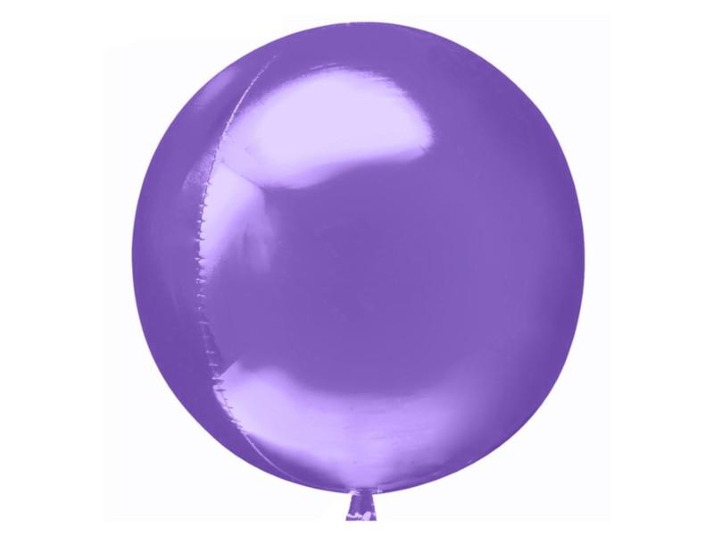 Шар полимерный СИМА-ЛЕНД Неон Круг 18-inch Dark Violet 3103731
