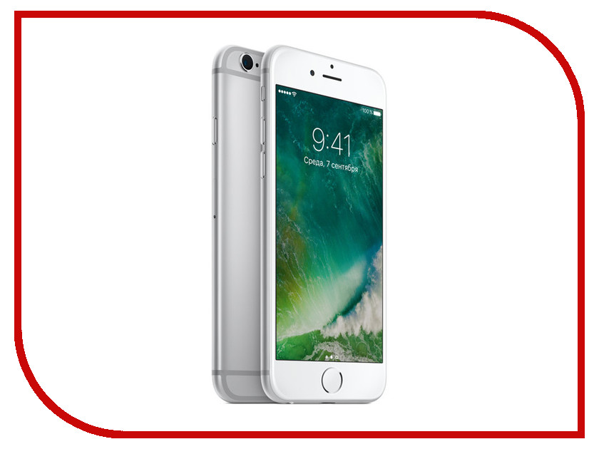 Сотовый телефон Apple iPhone 6S 64GB Silver восстановленный миллиард цветов esr apple iphone 6 6с телефон оболочки apple 6 6s мобильный телефон оболочки телефон устанавливает прозра