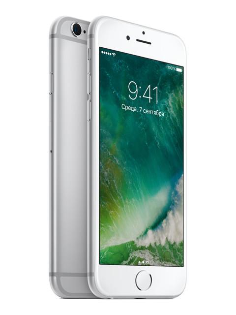 купить Сотовый телефон Apple iPhone 6S 64GB Silver восстановленный дешево