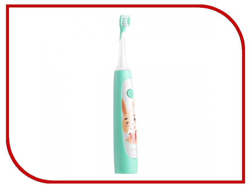 Зубная электрощетка Xiaomi Soocas Сhildrens Electric ToothBrush C1 Green зубная электрощетка xiaomi soocas сhildrens electric toothbrush c1 yellow