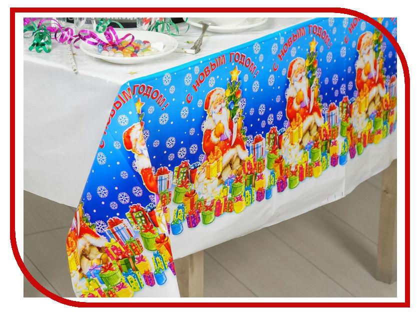 Скатерть Страна Карнавалия С Новым годом! 137x182cm 301711 новогодний сувенир страна карнавалия конфетти с новым годом енотик mix 2226407