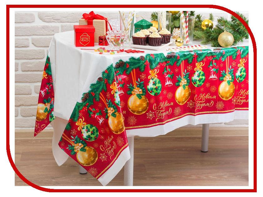 Скатерть Страна Карнавалия С Новым годом 182x137cm 3483242 новогодний сувенир страна карнавалия конфетти с новым годом енотик mix 2226407