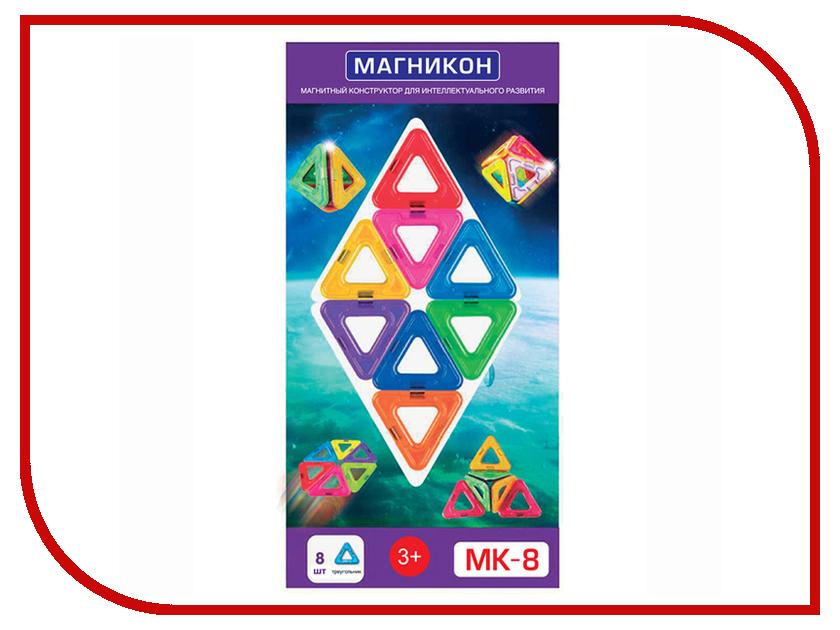 Конструктор Магникон MK-8 8 дет. 4660007762651 конструктор магникон mk 30 комета
