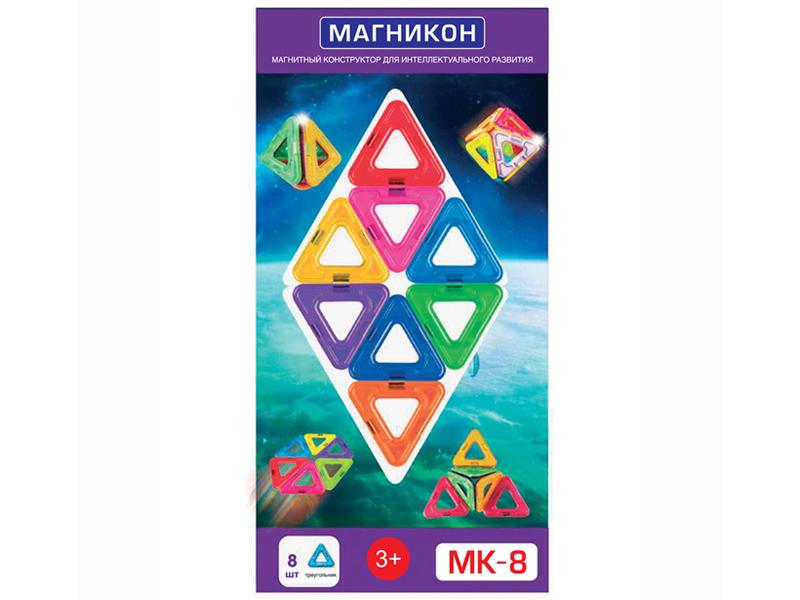 Конструктор Магникон MK-8 8 дет. 4660007762651