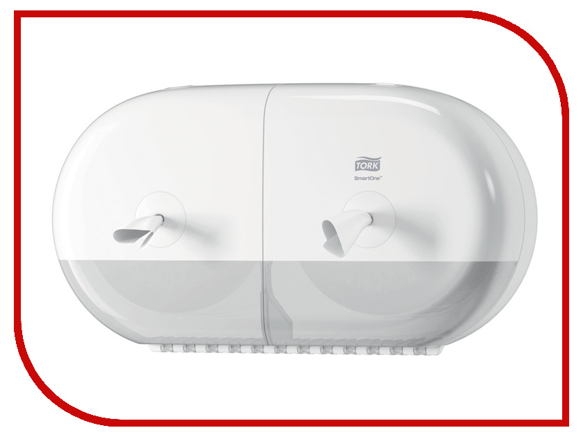 Дозатор Tork T9 SmartOne для туалетной бумаги White 682000 abc t9 electric screwdriver torx bits set silver grey 5mm shank t9