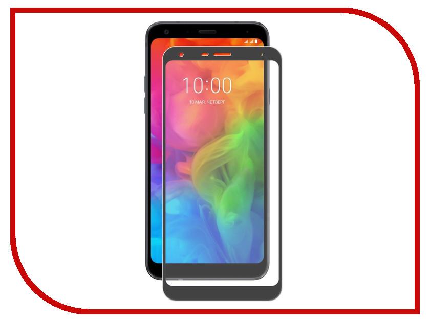 Аксессуар Защитное стекло для LG Q7 / Q7 Plus Q610YB Svekla Black ZS-SVLGQ610YB-FSBL аксессуар защитное стекло для huawei y6 prime 2018 svekla full screen black zs svhwy6p2018 fsbl