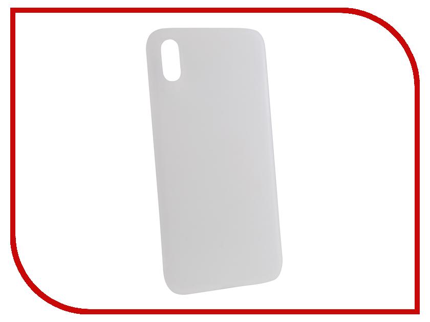 Фото Аксессуар Чехол Gurdini Matte Silicone 0.3mm для APPLE iPhone XS Max 6.5 Transparent 906920