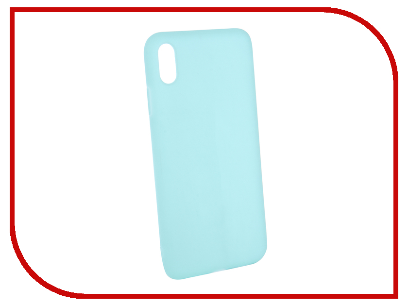 Аксессуар Чехол для APPLE iPhone XS Max Gurdini Matte Silicone 0.3mm Mint 906922 аксессуар чехол для apple iphone xs max gurdini ultra slim 0 1mm white 907311