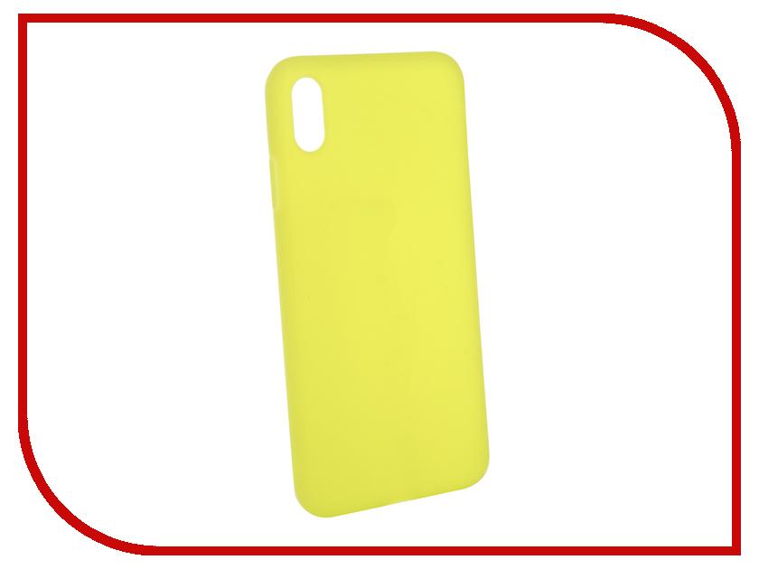 Аксессуар Чехол Gurdini Matte Silicone 0.3mm для APPLE iPhone XS Max 6.5 Lime Green 906924 gangxun blackview a8 max корпус высокого качества кожа pu флип чехол kickstand anti shock кошелек для blackview a8 max