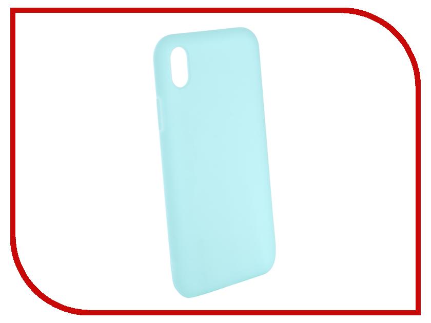Аксессуар Чехол Gurdini Matte Silicone 0.3mm для APPLE iPhone XR 6.1 Mint 906928 аксессуар стекло противоударное gurdini full screen 2d для apple iphone xr 6 1 matte black 907468