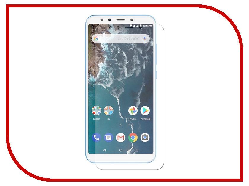 Аксессуар Защитная пленка Xiaomi Mi A2 LuxCase антибликовая 56817 аксессуар защитная пленка luxcase для alcatel 3l 5034d luxcase full screen transparent 88578