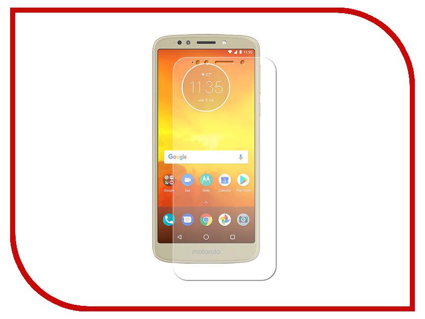 Аксессуар Защитная пленка для Motorola Moto E5 LuxCase суперпрозрачная 52129 аксессуар защитная пленка luxcase для alcatel 3l 5034d luxcase full screen transparent 88578