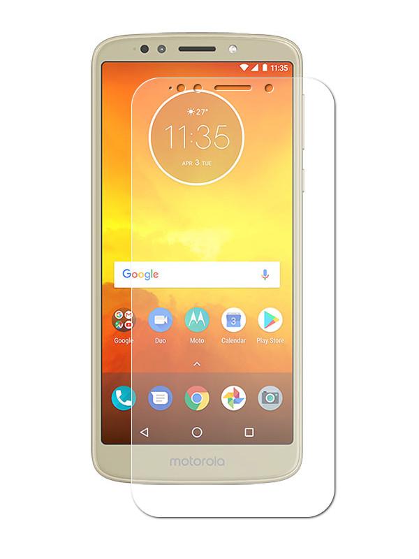 Аксессуар Защитная пленка LuxCase для Motorola Moto E5 суперпрозрачная 52129
