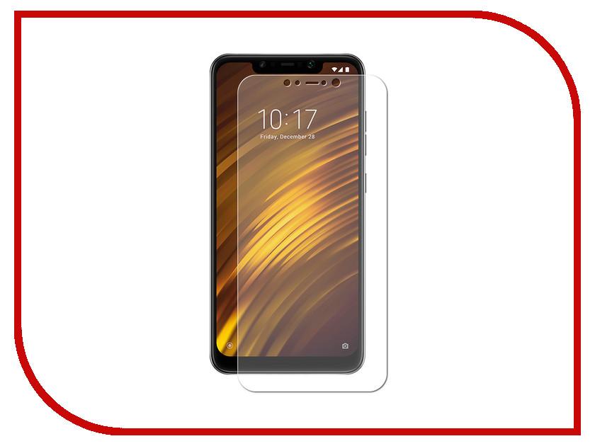 Аксессуар Защитная пленка для Xiaomi Pocophone F1 LuxCase суперпрозрачная 55799 ambiente подвесной светильник ambiente navarra 02228 wp