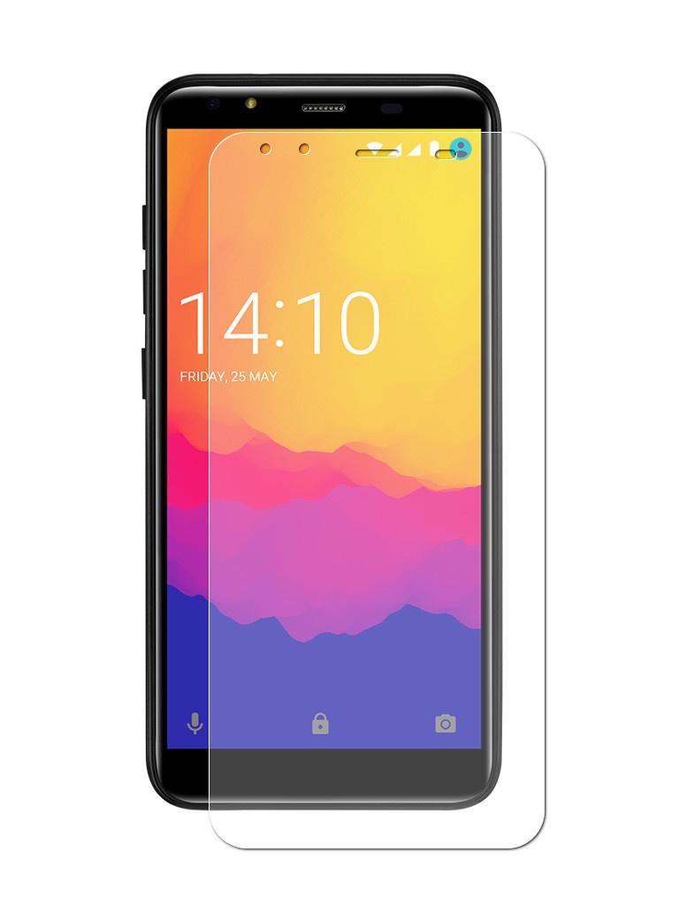 Аксессуар Защитная пленка LuxCase для Prestigio Muze E5 Full Screen Transparent 89175 смартфон prestigio muze e5 black