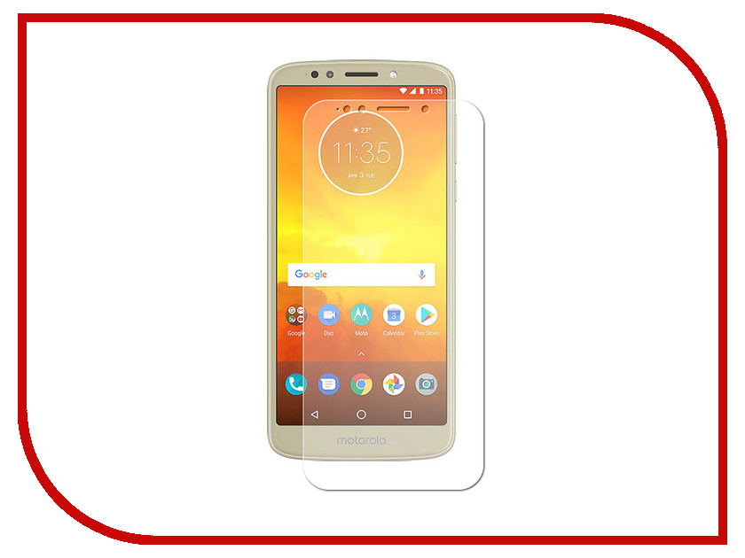 Аксессуар Защитная пленка для Motorola Moto E5 Plus LuxCase Full Screen Transparent 88618 аксессуар защитная пленка для motorola moto e gen 4 luxcase full screen transparent 88907
