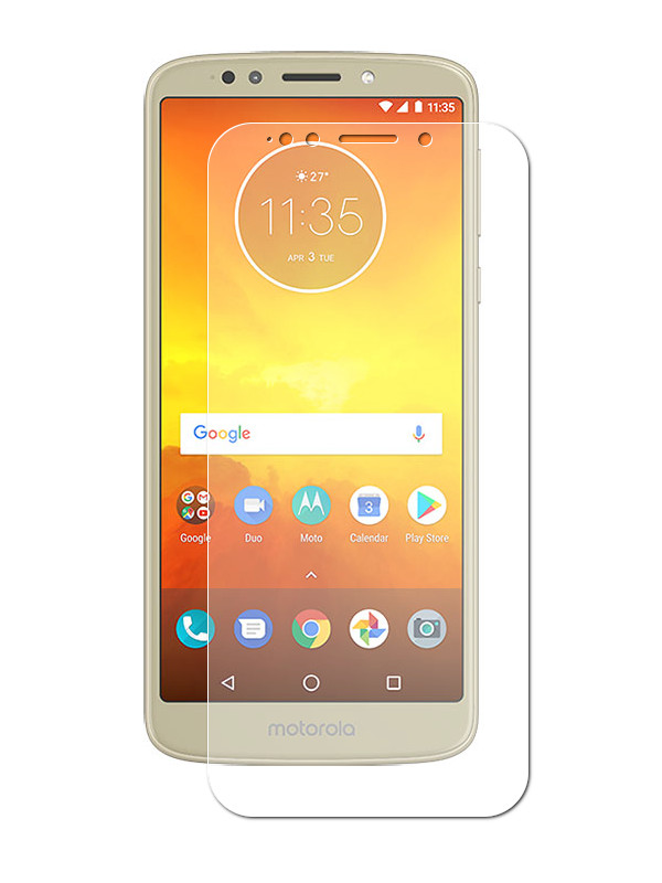 Аксессуар Защитная пленка LuxCase для Motorola Moto E5 Plus Full Screen Transparent 88618