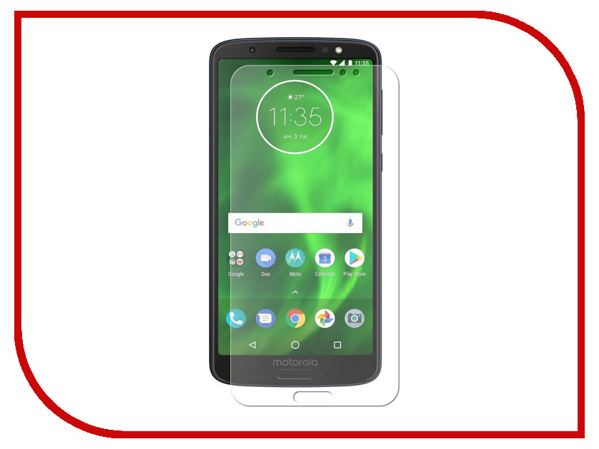 Аксессуар Защитная пленка для Motorola Moto G6 LuxCase Full Screen Transparent 88619 639521 001 g6 g6 1000 connect with printer motherboard full test lap connect board