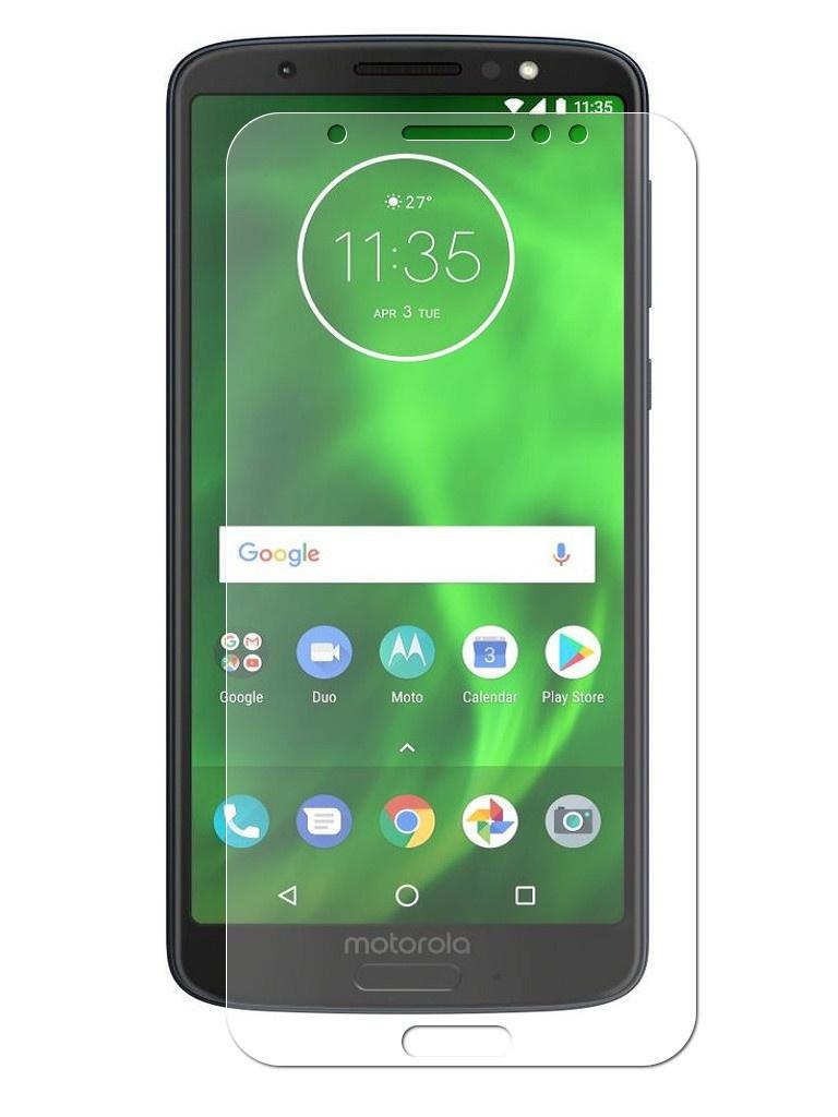 Аксессуар Защитная пленка LuxCase для Motorola Moto G6 Full Screen Transparent 88619