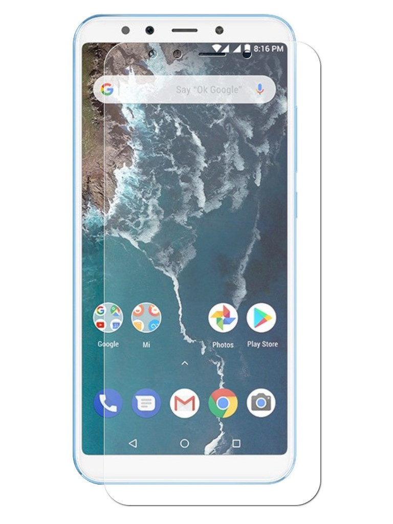 Аксессуар Защитная пленка LuxCase для Xiaomi Mi A2 Full Screen Transparent 88415 protective pc clear screen films w cleaning cloth for xiaomi mione 1s transparent 6 pcs