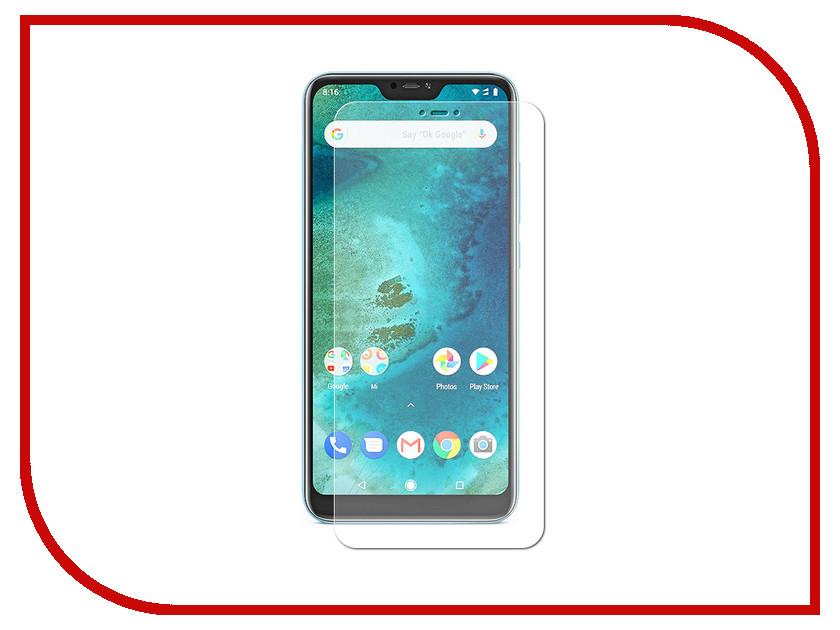 Аксессуар Защитная пленка для Xiaomi Mi A2 Lite LuxCase Full Screen Transparent 88416 xiaomi mi 5c soft screen protector transparent