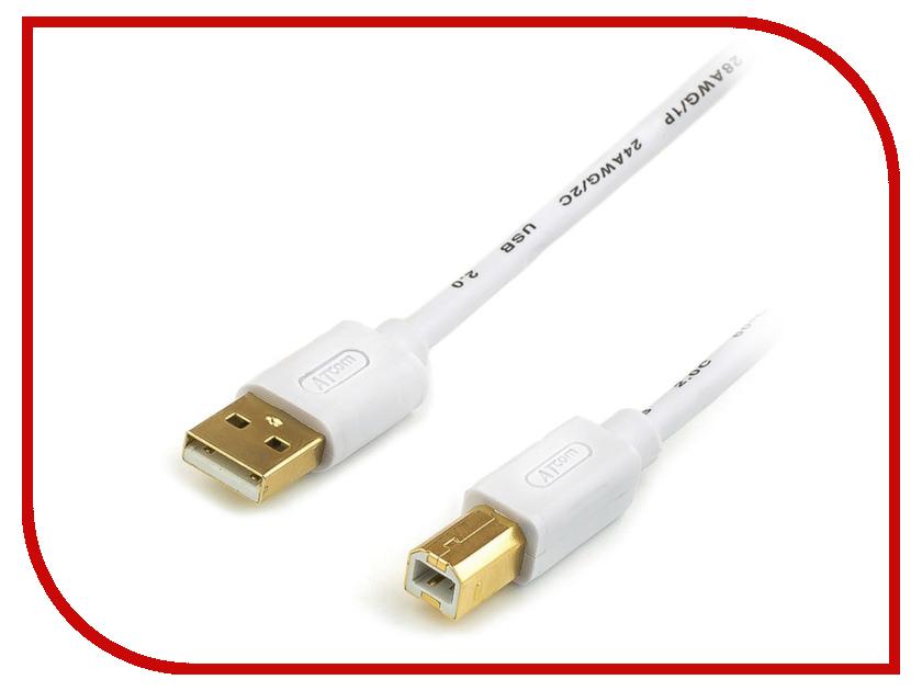 Аксессуар ATcom USB AM/BM Ferrite 0.8m АТ6151 аксессуар atcom usb 2 0 am mini usb 1 8m ат3794
