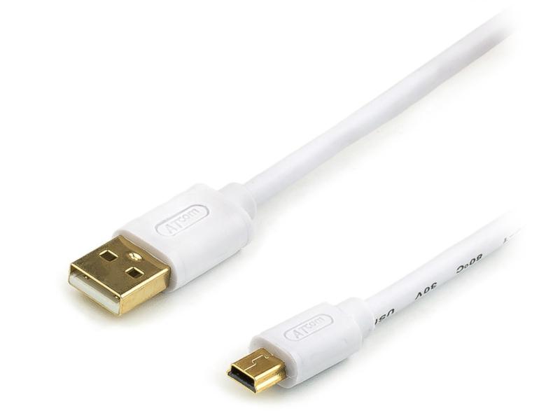 Аксессуар ATcom USB AM - Mini 0.8m АТ3791
