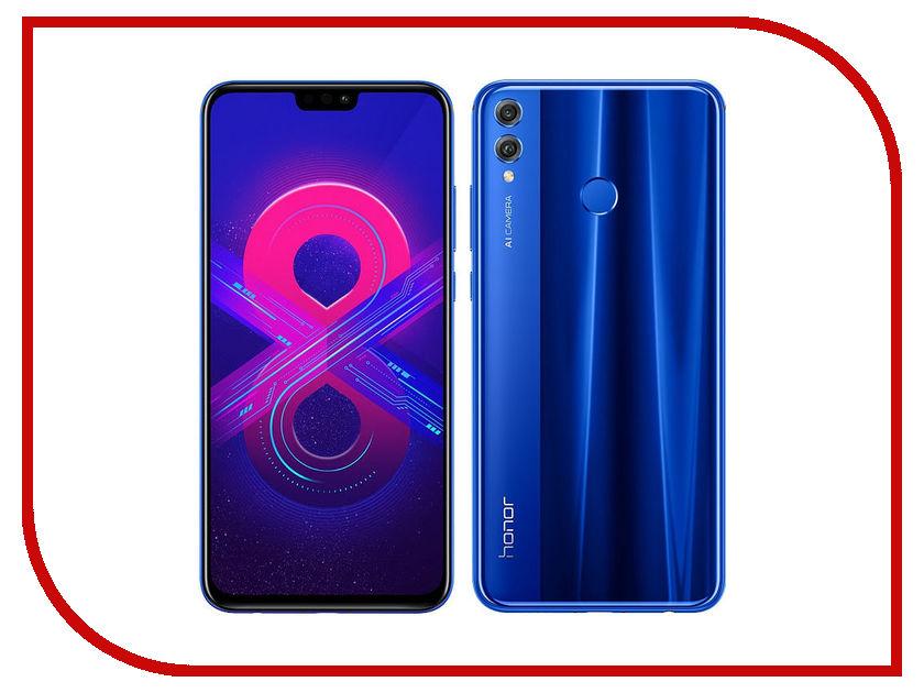 Сотовый телефон Honor 8X 4/128GB Blue
