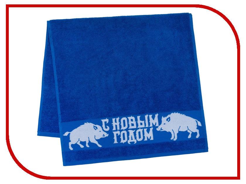 Полотенце Collorista С новым годом 50x90cm Blue 3658617 полотенце tramp tra 162 blue