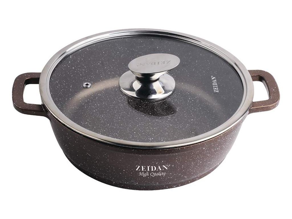 Сковорода Zeidan 3.5L 24cm Z-50309 жаровня zeidan z 50309