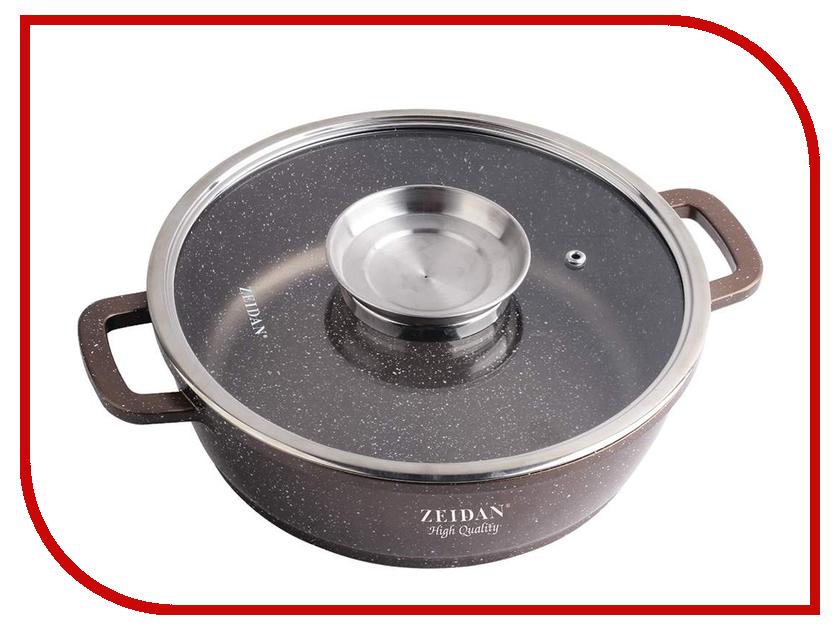 Кастрюля-жаровня Zeidan 5L 28cm Z-50311 кастрюля жаровня zeidan 7l 32cm z 50260