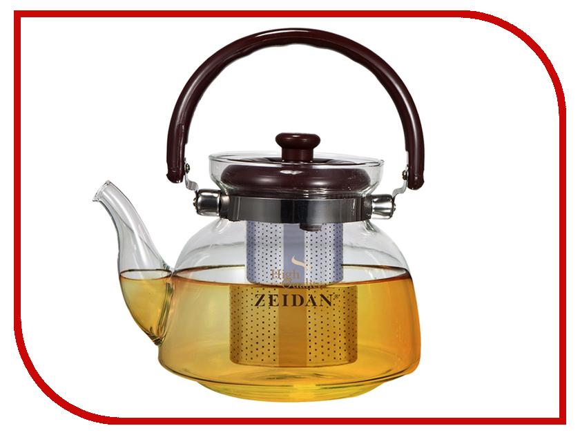 Чайник заварочный Zeidan 600ml Z-4055 чайник заварочный zeidan z 4061 0 8 л стекло прозрачный