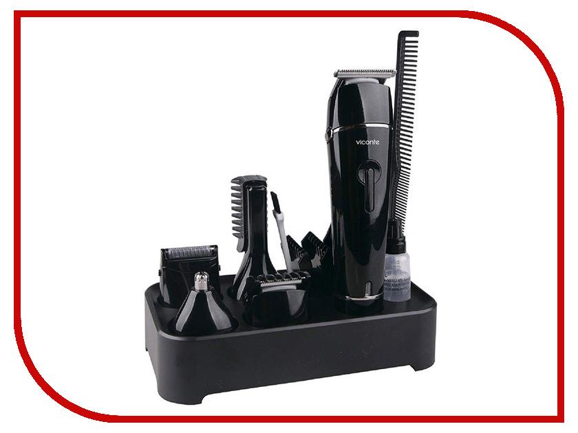 Машинка для стрижки волос Viconte VC-1476 Black машинка для стрижки viconte vc 1471